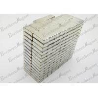 Rectangular Permanent Neodymium Magnets N35 Grade Rugular For Sensor Motors for sale