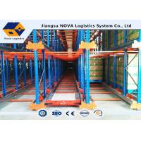 Wholesale Durable Electrostatic Spray Shuttle Pallet Racking Cold Rolled Steel pallet shuttle system from china suppliers