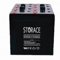 Wholesale Deep Cycle Battery with 2V/2,000Ah Capacity, Sealed Lead acid and Maintenance free from china suppliers