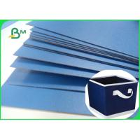 Wholesale Lacquered Finish Glossy Blue Cardboard For Gift Box File Folders 720 x 1020mm from china suppliers