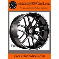 Wholesale 2pcs 8.0 - 12.5 Width Concave Forged Wheels / Black 19 Inch Rims from china suppliers