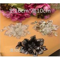 Garment Accessories  Butterfly Embroidery Sequin Applique with Different Color