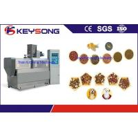 Wholesale High Capacity Floating Fish Feed Extruder Machine , Fish Meal Processing Equipment from china suppliers