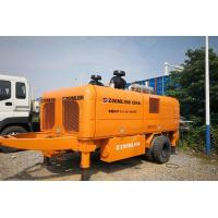 China Zoomlion Trailer Mounted Concrete Pump HBT110-26-390RS With 800L Hopper on sale