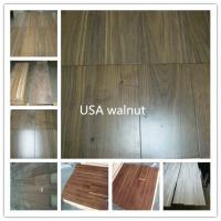 Wholesale sell Walnut  solid flooring from china suppliers