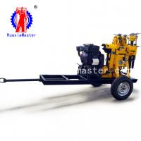 Wholesale Supply XYX-130 wheeled water well drilling rig/small truck drill rig/hydraulic core drilling rig convenient to carry from china suppliers
