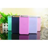 Wholesale iPhone6/6plus iface jelly color ultra - thin soft shell from china suppliers