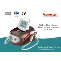 China White And Brown portable 808nm Diode Laser Hair Removal Machine for sale