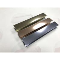 Wholesale Polishing Surface Alloy 6463 Aluminium Shower Profiles Silver Gold And Champange from china suppliers