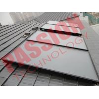 Easy Operation Customized Flat Plate Solar Collector Full Automatic Control