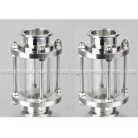 China SS304L SS304 Sanitary Sight Glass For Pressure Vessels / Tri Clamp Sight Glass on sale