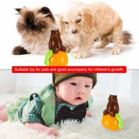 Wholesale Christmas gift tumbler cat toy funny tumbler pet cat dog toy sunds Light from china suppliers