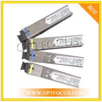 BIDI Fast Gigabit Ethernet SFP Optical Transceiver 155M And 1.25G With SC Or LC Connector for sale