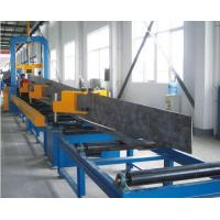 Wholesale Durable Automatic Welding Machine , H Beam Production Line Steel Structure Manufacturing from china suppliers