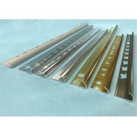Wholesale 6063 6463T5 Aluminium Floor Trim Profiles With Bright Dip Polishing from china suppliers