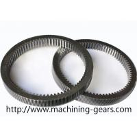 Machinery Parts Steel Internal Gear , Gearbox Parts Large Ring Gear