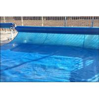 Wholesale Anti - UV 100um 200um Swimming Pool Solar Cover Blue Color PE Bubble Blanket from china suppliers