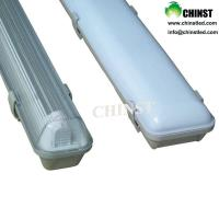 Wholesale 120lm/w efficiency 4ft led tube light fixture IP65 led tri-proof light from china suppliers