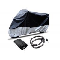 Universal Breathable Motorcycle Cover , Heat Resistant Motorcycle Cover With Lock