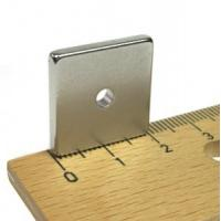 N38 Neodymium Block Magnet with Hole for sale