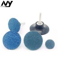 Wholesale Coarse Roloc Sanding Disc , Powerful 50mm Roloc Discs Hard Wear Resistance from china suppliers