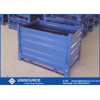 Wholesale Powder Coated Foldable Metal Box Heavy Duty Metal Storage Box For Warehouse from china suppliers