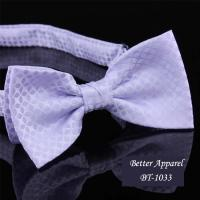 China cravat designer neckwear polyester bow tie for sale