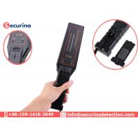 China Metro Station Handheld Metal Detector Security Check High Sensitivity 9V Battery on sale