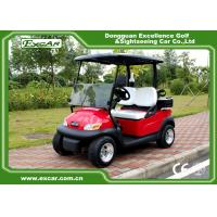 China Red color Trojan battery mini Electric Golf Car 48V buggy car on sale