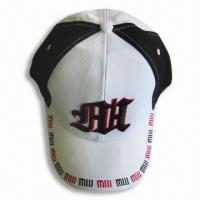 Wholesale 100% Cotton Sports Cap with Embroidery Design from china suppliers