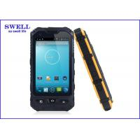 yellow Shockproof 3G GPS IP68 Smartphone , WIFI Land Rover Rugged Phone A8