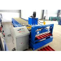 Best Chromadeck Roofing Sheet Roll Forming Machine Length Adjustable Hydraulic Cutting System wholesale