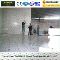 Polystyrene Fruit Cold Storage Room Heat Insulated Walk In Freezer Rooms for sale