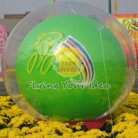 Wholesale Reusable Versatile Digital Printing Green Inflatable Helium Ballon, Inflate Ground Balloon from china suppliers