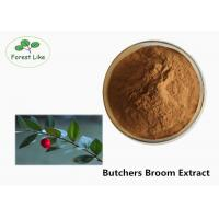 Natural Butchers Broom Powdered Herbal Extracts With Ruscogenin Powder UV 5% For Varicose Veins