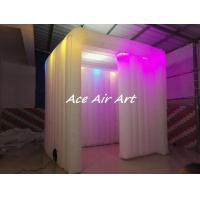Wholesale new photo booth enclosure wedding party event inflatable photo booth led strip for sale from china suppliers