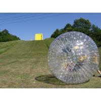 China Commercial 0.9mm PVC Human Sized Inflatable Zorb Ball YHZB 003 on sale