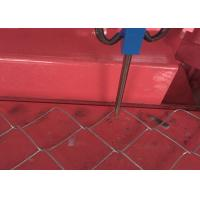 Wholesale Wire Dia 4 Mm Chain Link Mesh Machine , Fence Panel Machine 3 M Length from china suppliers