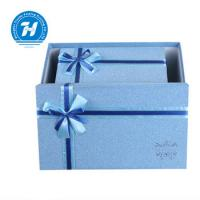 Buy cheap Blue Custom Luxury Gift Packaging Boxes , Wedding Party Favor Boxes from wholesalers