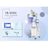 Best No pain Three Wavelengths Diode Laser Hair Loss Treatment 8 Inch Multi Color Touch Screen wholesale
