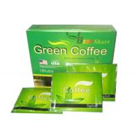 Wholesale Best share green coffee weight loss herbal slimming coffee 18 bags / box from china suppliers