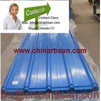 Wholesale colored corrugated steel sheet for roofing MODEL NO.: YX28-205-820 from china suppliers