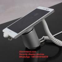 Wholesale COMER security protection for single one port alarm for iphone with charging stand exhibition from china suppliers