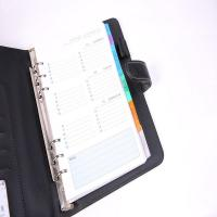 China Loose leaf leather journal diary notebook on sale