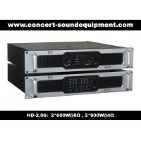 Buy cheap 2x600W Stable Analog Audio Amplifier For Living Event, Conference, Church and Concert from wholesalers