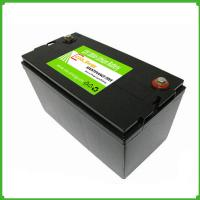 Wholesale Deep cycle rechargeable 12V  100Ah lithium ion solar energy storage lifepo4 12V  battery from china suppliers