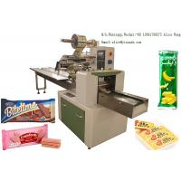 Wholesale Wafer Biscuit Food Packaging Machine 304 Stainless Steel Material CE ISO from china suppliers