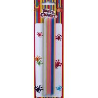 Wholesale Beautiful Colors Long Birthday Cake Candles (YFC0009) from china suppliers