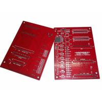 China Silver Custom PCB Boards with 0.05mm Hole Tolerance for UV LED PCB Board Design on sale