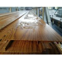 China Plank / Decking / Flooring Aluminium Extruded Profiles With Wooden Color on sale